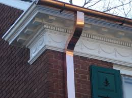 decor u0026 tips soffit and fascia with wall molding and copper