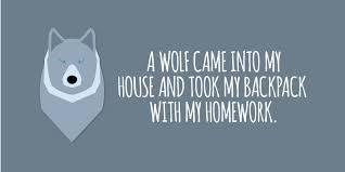 Hilarious Homework Excuses   Edutopia Edutopia