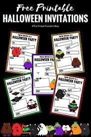 Halloween Free Printable Invitations Crafty October 2017 A Month Of Halloween Ideas