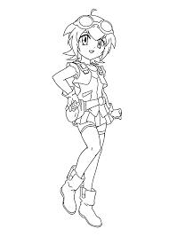 madoka beyblade anime coloring pages for kids printable free