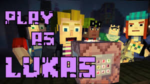 play as lukas minecraft story mode youtube