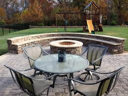 Outdoor Seating by Outdoor Stone Firepits Charlotte Nc Masters Stone Group