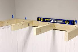 Custom Bookshelves Cost by How To Build Floating Shelves