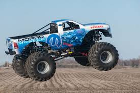 monster truck shows in michigan mopar to debut first new monster truck in over ten years mopar