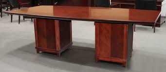8 Foot Desk by Arlington 8 Foot Conference Table Transitional Walnut National