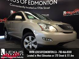 lexus canada second hand used gold 2008 lexus rx 350 4wd review morinville alberta youtube