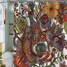 Paradise Bird Shower Curtain | Fab.