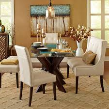 Simon Espresso X Dining Table Base Pier  Imports - Pier one dining room sets