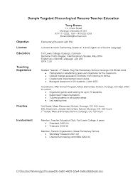 Resume Profile Section Examples by Teacher Profile Resume Fresh Sample Curriculum Vitae For Teachers