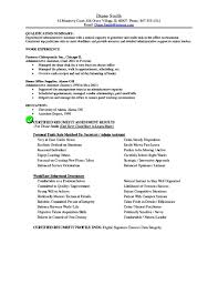 Office Assistant Resume Sample by Executive Administrative Assistant Resume Objective Free Samples