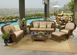 Best Wicker Patio Furniture Deep Seating Wicker Patio Furniture Sets I Spacious Design