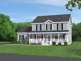marvelous two story home plans small house unique with porch idolza