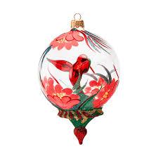 glittering hummingbird globe ornament moma design store