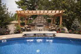 pool and outdoor kitchen designs amazing home design lovely at
