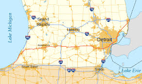 Map Of Detroit Metro Airport by Interstate 94 In Michigan Wikipedia
