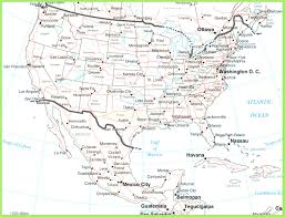San Luis Potosi Mexico Map by Download Map Of Usa And Mexico With Cities Also Map Of Usa And