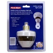 first alert pir725 motion sensing light socket walmart com