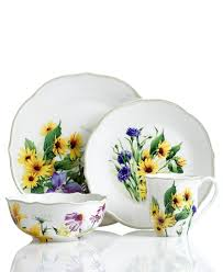 floral meadow sunflower dishes from lenox dinnerware replacing my