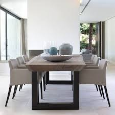 Rustic Modern Dining Room Tables by Best 25 Upholstered Dining Room Chairs Ideas On Pinterest