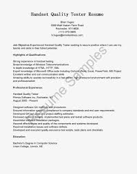 Sample Resume Of Manual Tester by 3 Years Manual Testing Sample Resumes Free Resume Example And
