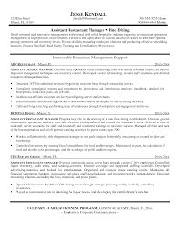 resume examples for project managers unforgettable assistant manager resume examples to stand out resume examples restaurant manager frizzigame restaurant assistant manager resume sample