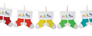 Sock Ons come in a variety of colors
