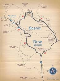 Antelope Canyon Arizona Map by Antelope Canyon Trail Map