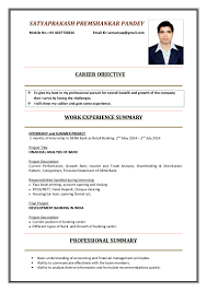 Retail Professional Summary Resume Mms In Finance 2015