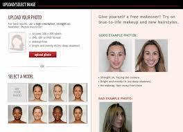 Sites com Simulação virtual de corte de cabelo
