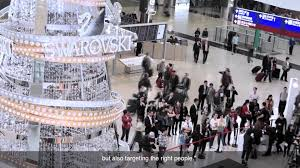 jcdecaux transport hong kong swarovski brings holiday cheers