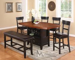 la cucina table 21610 mainline inc counter height dining sets at