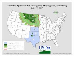 Usda Eligibility Map Emergency Haying And Grazing Resources Cropwatch University Of