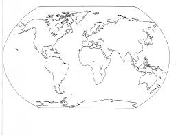 Blank Us Map Pdf by 7 Continents Blank Map Pdf