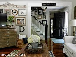 Farm Style Living Room by Gallery Walls Farmhouse Style Rooms For Rent Summer Home Tour