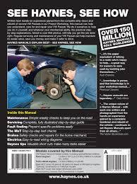 vw passat petrol u0026 diesel dec 00 may 05 haynes repair manual
