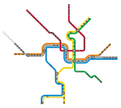 Public Transit Chicago Map by Quiz Can You Name These Cities Just By Looking At Their Subway