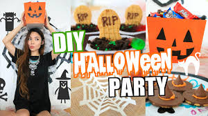 halloween party theme ideas easy diy halloween party decor u0026 treat ideas 2015 youtube