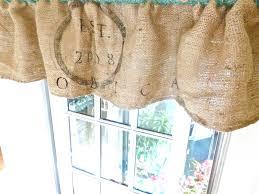 burlap u0026 buttons burlap sack curtain tutorial