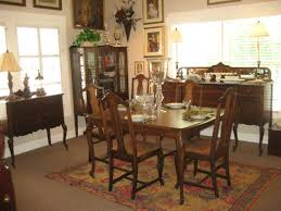 dining room varnished rectangle wood dining table pads 6 chairs