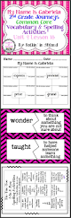 journeys yeh shen lesson 28 spelling u0026 vocab activities rainbow