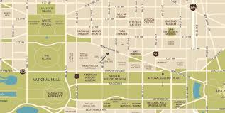Washington Dc Usa Map by Washington Dc Map Pennsylvania Avenue 72 Vector With Washington Dc