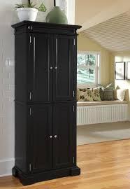 black kitchen pantry cabinet kitchens design