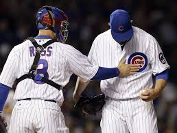 Image result for mound visit cubs