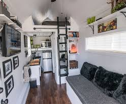 cozy small house design on wheels