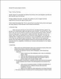 example persuasive essay outline