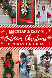 Diy Mini Christmas Trees Pinterest Best 25 Diy Outdoor Christmas Decorations Ideas On Pinterest
