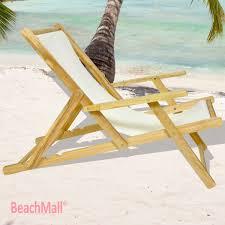 Luxury Beach Chair Wooden Beach Chairs On The Beach