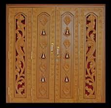 mandir door images u0026 carving of thai temple door in golden color