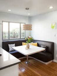 Dining Table With Banquette 12 Ways To Make A Banquette Work In Your Kitchen Hgtv U0027s
