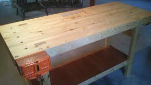 Plans For Building A Wooden Workbench by Build A 100 2x4 Workbench With This Simple Instructable